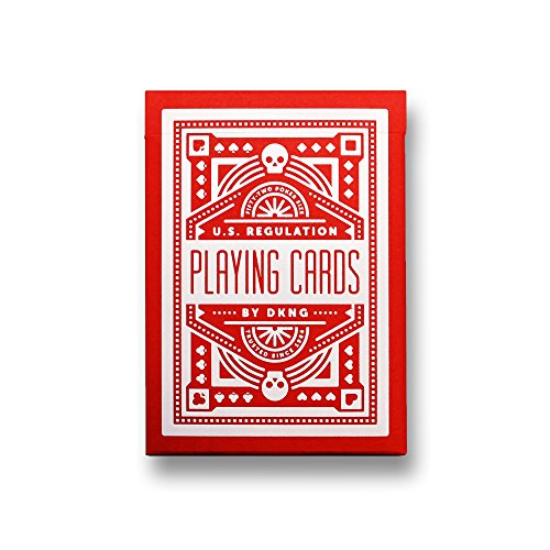 MTS Red Wheel Playing Cards by Art of Play