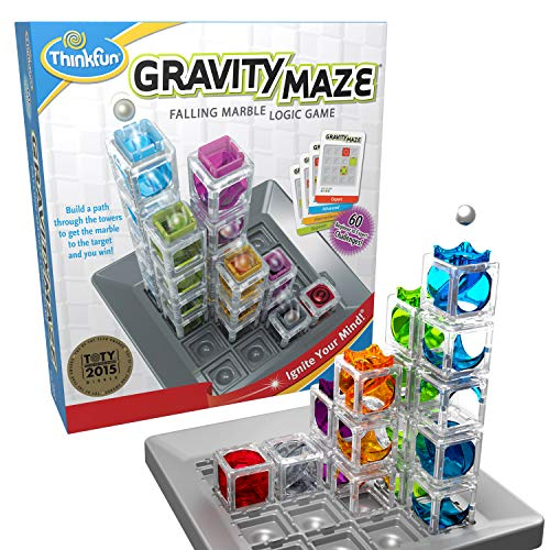 ThinkFun Gravity Maze Marble Run Brain Game and STEM Toy for Boys and Girls...