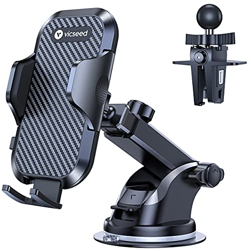 VICSEED Universal Cell Phone Holder for Car Phone Mount Car Phone Holder...