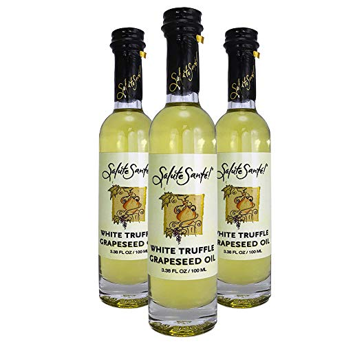 Salute Sante! White Truffle Infused Grapeseed Oil, Healthy Grape Seed Oil...