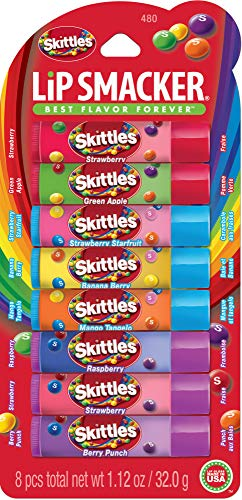 Lip Smacker Skittles Party Pack, 8 count
