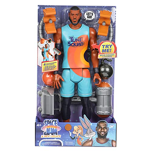 Moose Toys Space Jam: A New Legacy - Lebron James Ultimate Tune Squad 12'...