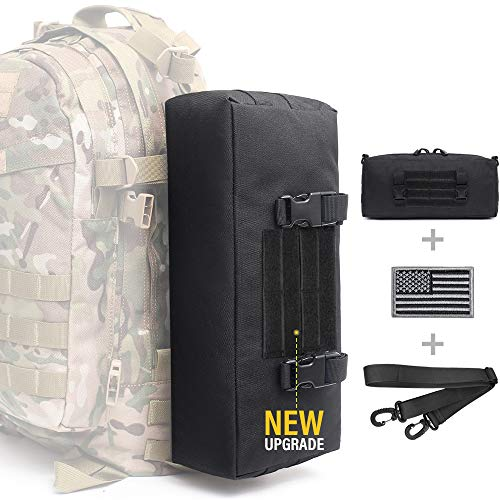 WYNEX Tactical Increment Molle Pouch, Vertical EDC Utility Pouches Sling...