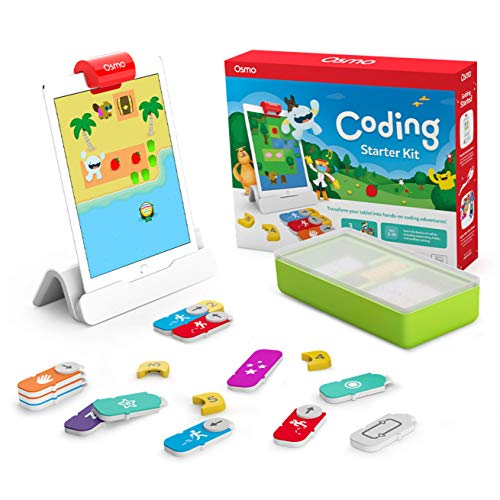 Osmo - Coding Starter Kit for iPad - 3 Educational Learning Games - Ages...