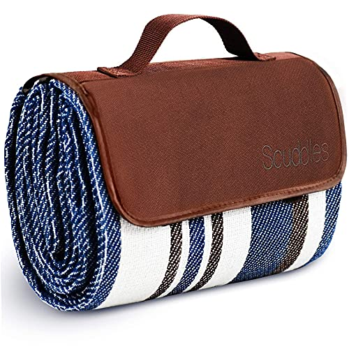 Extra Large Picnic & Outdoor Blanket Dual Layers for Outdoor...