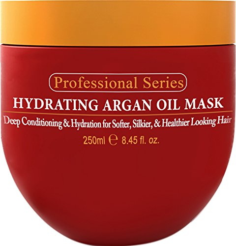 Hydrating Argan Oil Hair Mask and Deep Conditioner By Arvazallia for Dry or...