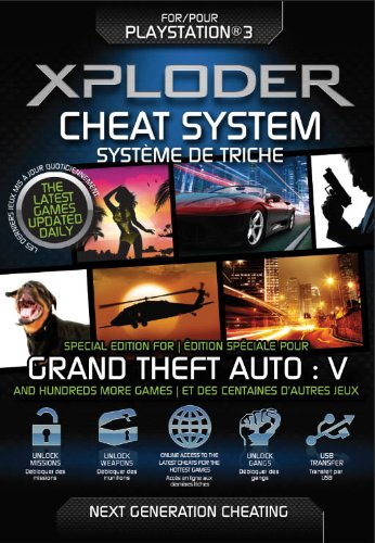 Xploder Cheat System - Special Edition for Grand Theft Auto V Plus 100's...