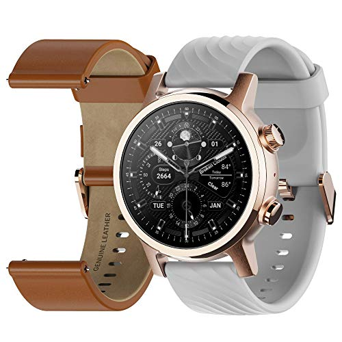 Moto 360 3rd Gen 2020 - Wear OS by Google - Touch Screen - Luxury Stainless...