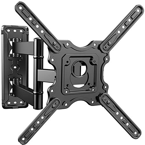 PERLESMITH Heavy Duty TV Wall Mount for Most 32-55 inch Flat and Curved TVs...