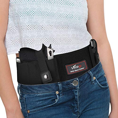 Vemingo Upgraded Conceal Carry Holster Breathable Neoprene Belly Band...