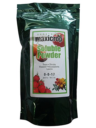 Maxicrop Pure Seaweed Extract Soluble Powder 0-0-17, 27-Ounce