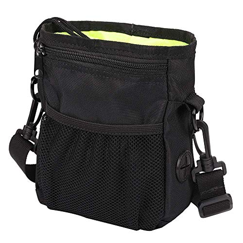 HANWELL Dog Treat Pouch with Built-in Poop Bags Dispenser, Hand-Free Pet...