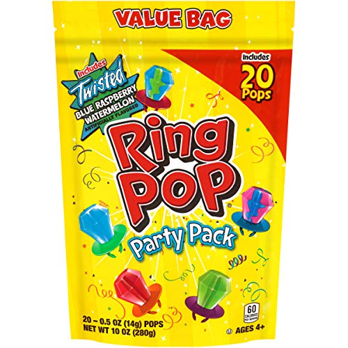 Ring Pop Individually Wrapped Bulk Lollipop Variety Party, Lollipop Suckers...