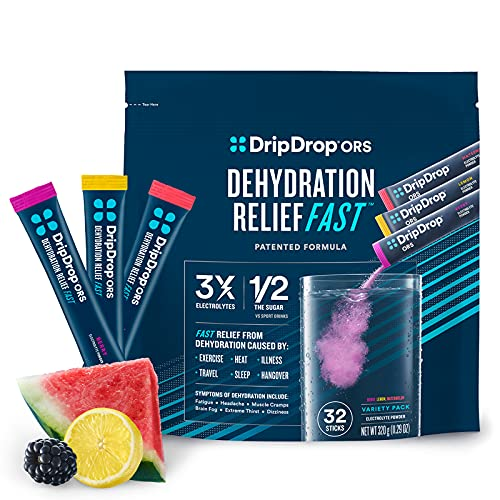 DripDrop ORS - Electrolyte Powder For Dehydration Relief Fast - For...