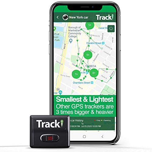 Tracki 2021 Model Mini Real time GPS Tracker. Monthly fee required. Full...