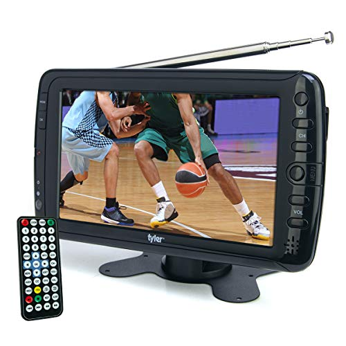 Tyler 7' Portable TV LCD Monitor Rechargeable Battery Powered Wireless...