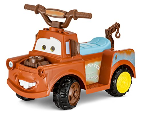 Kid Trax Toddler Disney Cars 3 Tow-Mater Electric Quad Ride On Toy, Kids...