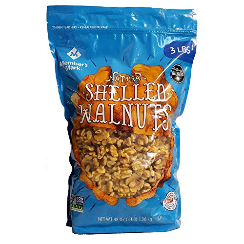 Member's Mark Shelled Walnuts (3 lb.) (pack of 2)