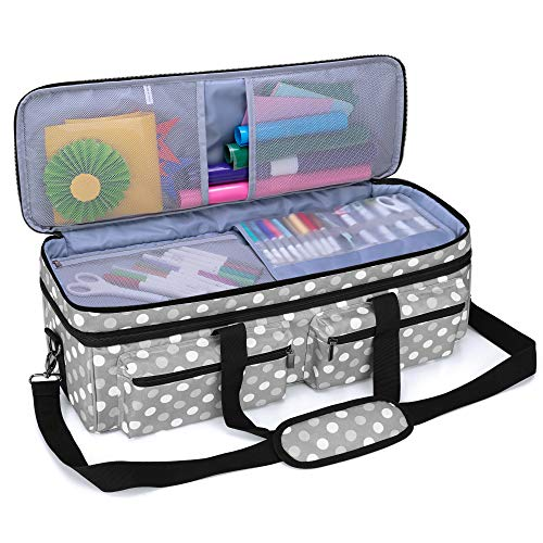 LUXJA Double-Layer Bag Compatible with Cricut Explore Air (Air2) and Maker,...