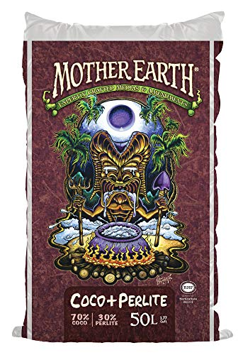MOTHER EARTH Coco Plus Perlite Mix - For Indoor and Outdoor Container...
