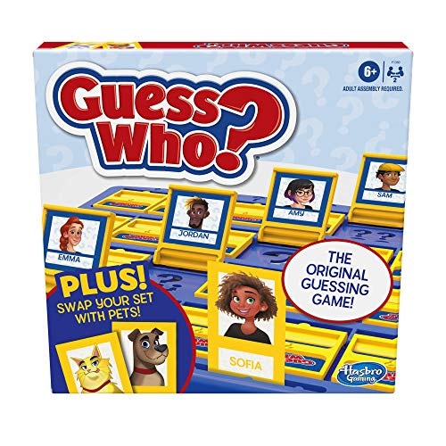 Hasbro Gaming Guess Who? Board Game with People and Pets, The Original...