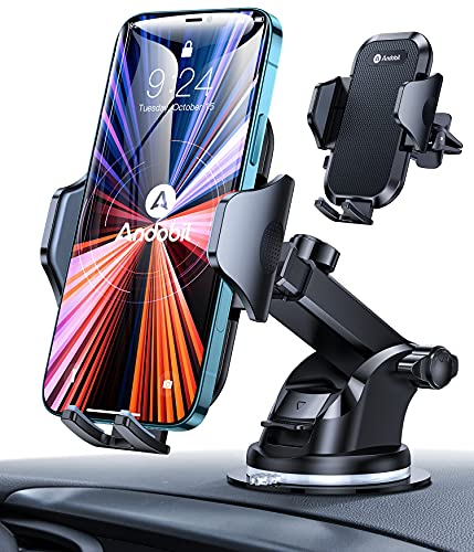 [Ultra-Stable] andobil Car Phone Mount, [All Road Conditions Friendly]...