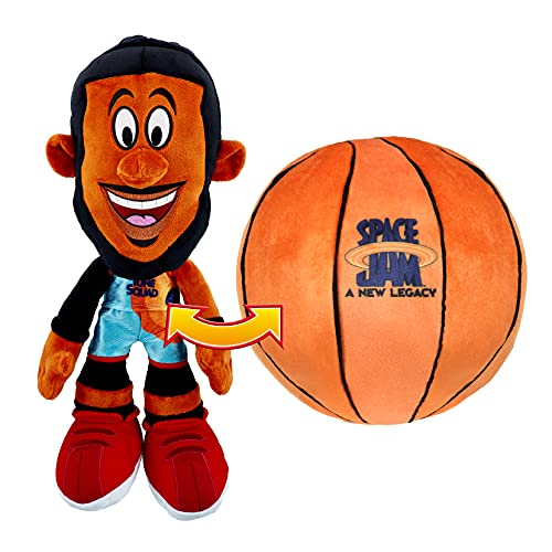 Space Jam: A New Legacy - Transforming Plush - 12' LeBron James into a Soft...