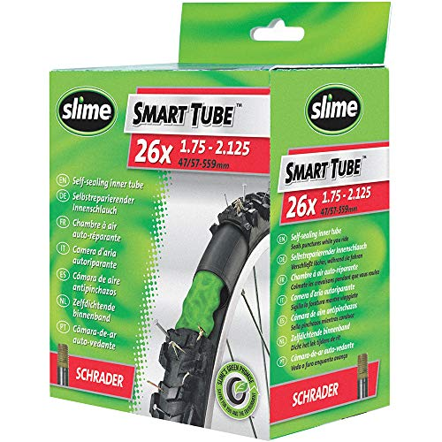 Slime 30045 Bike Inner Tube with Slime Puncture Sealant, Extra Strong, Self...