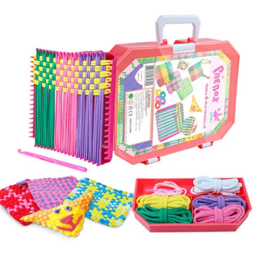 PREBOX Weaving Loom Kit Toys for Kids and Adults, Potholder Loops Crafts...