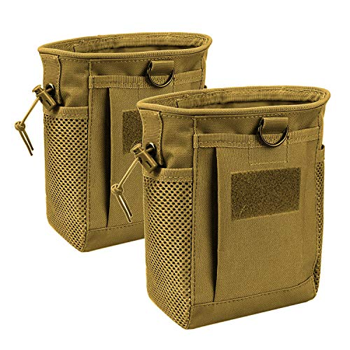 AMYIPO Tactical Hip Holster Bag Outdoor Pouch Molle Drawstring Magazine...