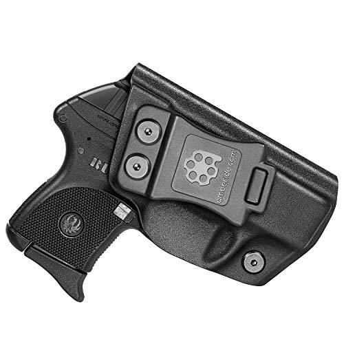 Amberide IWB KYDEX Holster Fit: Ruger LCP 380 Pistol | Inside Waistband |...