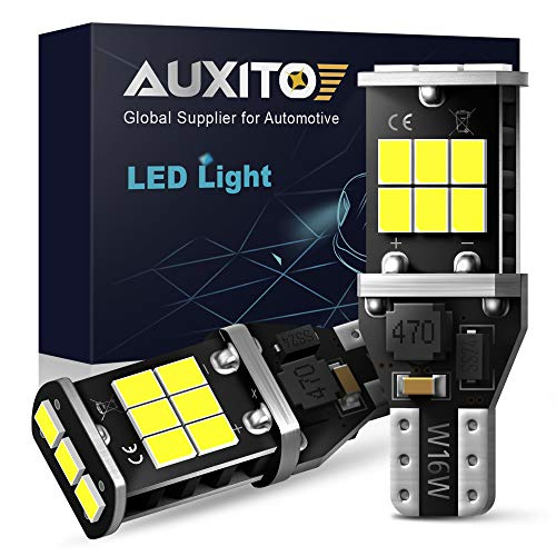 AUXITO 912 921 LED Backup Light Bulbs High Power 2835 15-SMD Chipsets Error...