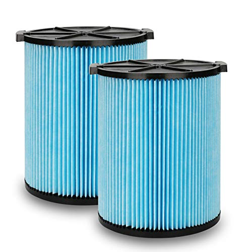 YUEFENG VF5000 Replacement Filter for Ridgid Shop Vac 6-20 Gallon Wet Dry...