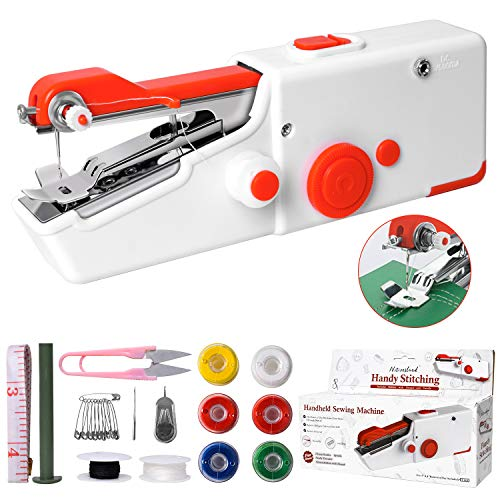 Handheld Sewing Machine, Mini Portable Electric Sewing Machine for...