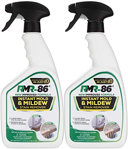 RMR-86 Instant Mold and Mildew Stain Remover Spray - Scrub Free Formula,...