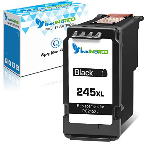 InkWorld Remanufactured 245XL Ink Cartridge Replacement for Canon PG245 243...