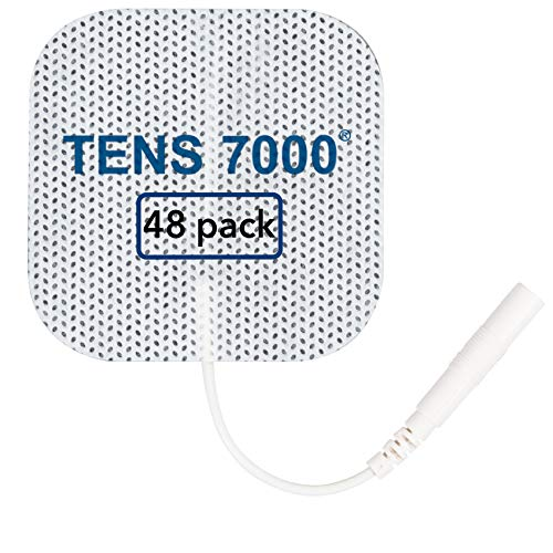 TENS 7000 Official TENS Unit Replacement Pads - 48 Pack, Premium Quality...