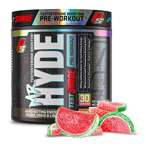 ProSupps Mr. Hyde Test Surge Pre Workout for Men and Women - High Stim Pre...