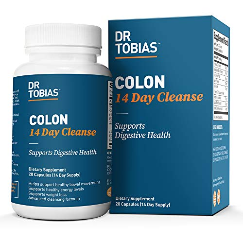 Dr. Tobias Colon 14 Day Cleanse, Supports Healthy Bowel Movements, 28...