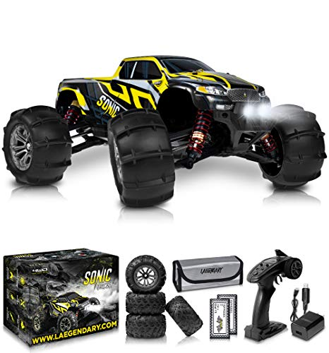 1:16 Brushless Large RC Cars 60+ kmh Speed - Kids and Adults Remote Control...