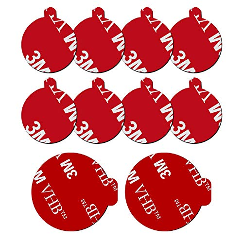 10 Pack 3M Sticky Adhesive Replacement Compatible with Socket Mount Base,...
