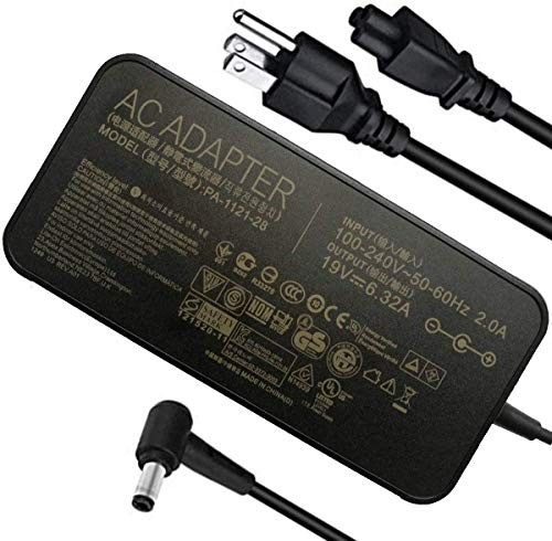 120W 19V 6.32A Power Adapter PA-1121-28 A15-120P1A AC Power Charger...