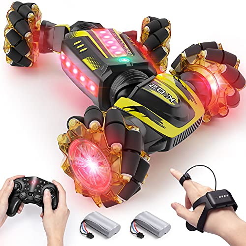 Gesture Control RC Cars, Remote Control car with Watch Control, 12.5mph 4WD...