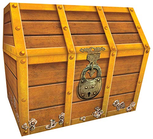 Teacher Created Resources TCR5048 Treasure Chest, 9-1/2 x 8 x 8-1/2 Inches...