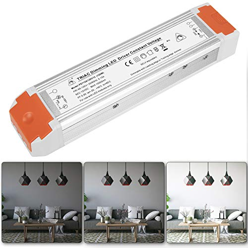 Dimmable LED Driver 12V 120 Watts Dimming LED Power Supply 110V to 12V DC...