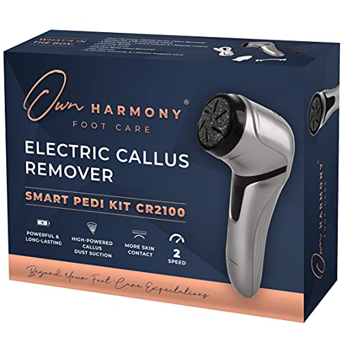 Electric Foot Callus Remover with Vacuum - Own Harmony Professional...