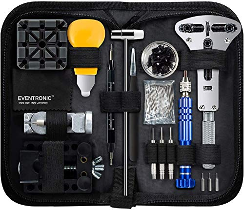 Watch Repair Kit, Eventronic Professional Spring Bar Tool Set Watch Band...