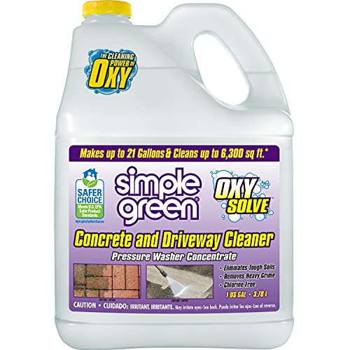 Simple Green Oxy Solve Concrete and Driveway Pressure Washer Cleaner,...