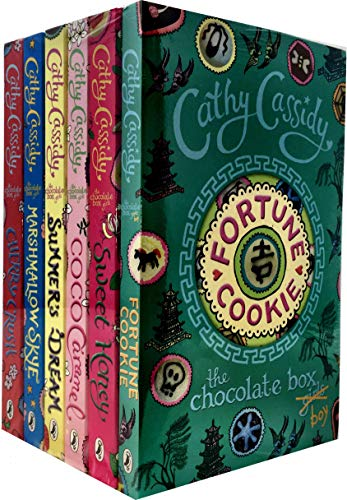 Cathy Cassidy The Chocolate Box Girls 6 Books Collection Set (Fortune...