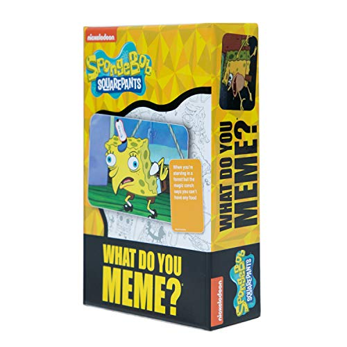 Spongebob Squarepants Deck by What Do You Meme? - Designed to be Added to...